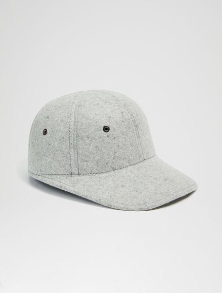 Cappellino Baseball in feltro Sportmax