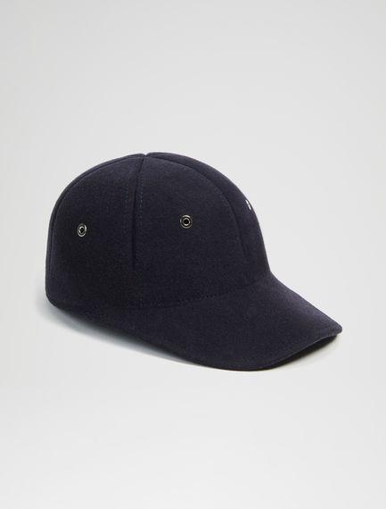 Felted Baseball Cap Sportmax