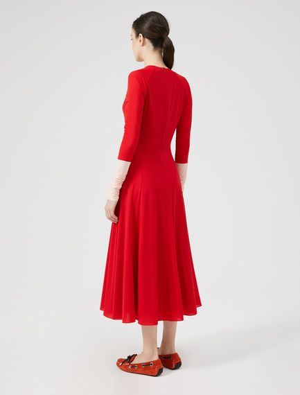 Two-Tone Jersey Dress Sportmax