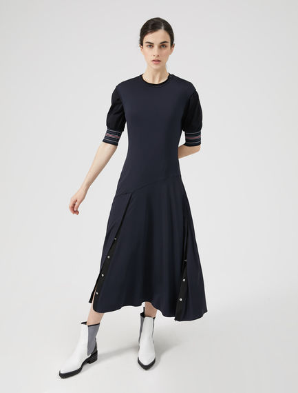 Organza & Viscose Split-side Dress Sportmax