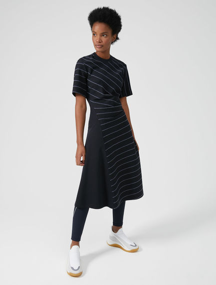 Graphic Chalkboard Jersey Dress Sportmax