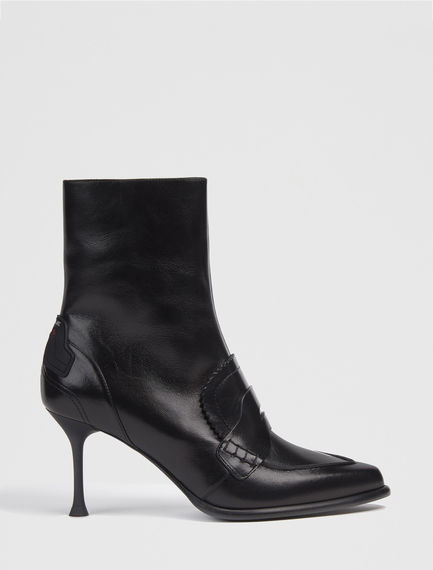 Calfskin Loafer Stiletto Boots Sportmax