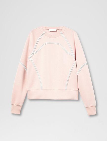 Swim-Style Sweatshirt