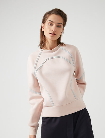 Swim-Style Sweatshirt Sportmax