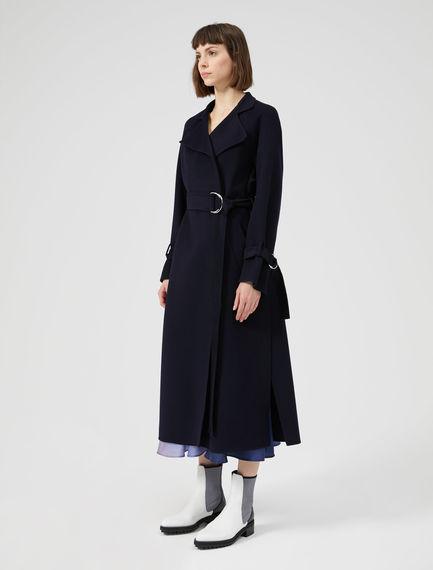 Cappotto in lana con maniche raglan