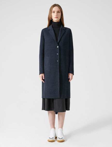 Oversized Wool Blend Coat