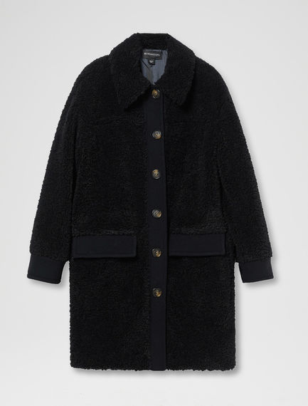 Teddy Fur Car Coat