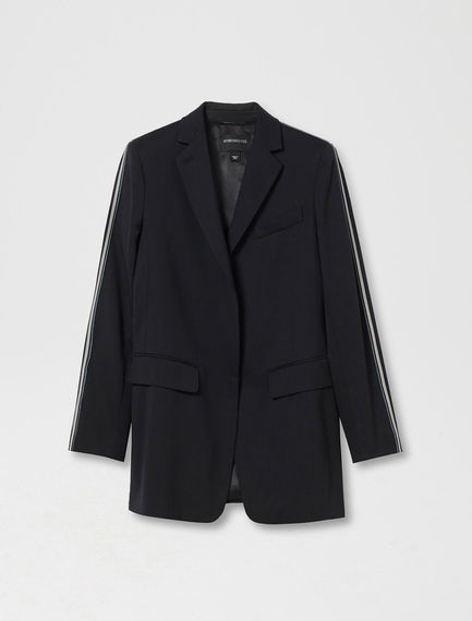 Stretch Wool Boating Blazer