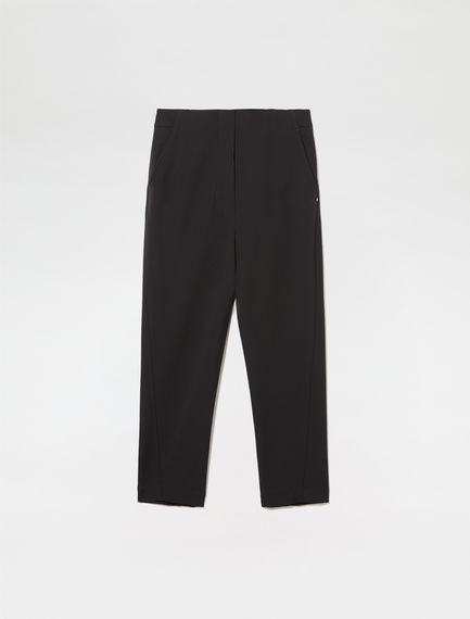 Tailored Carrot-leg Trousers