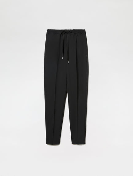 Wool Blend Jogging Trousers