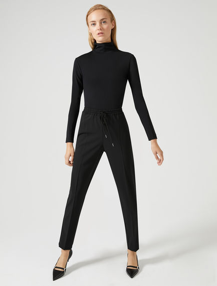 Wool Blend Jogging Trousers Sportmax