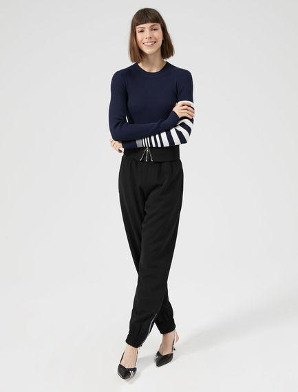 Pantaloni jogging-harem Sportmax