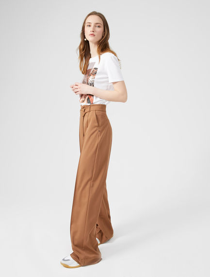 Slouchy Palazzo Trousers Sportmax