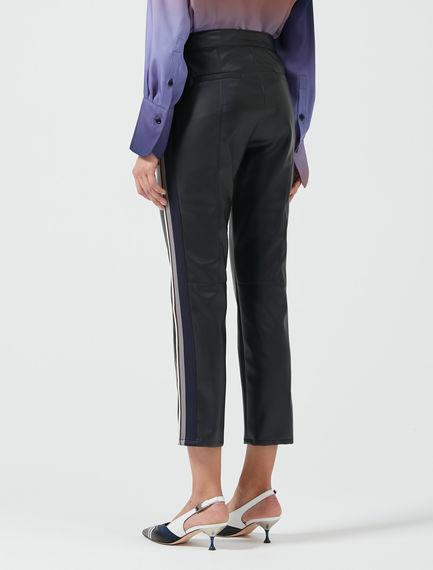 Slim-cut Biker Trouser