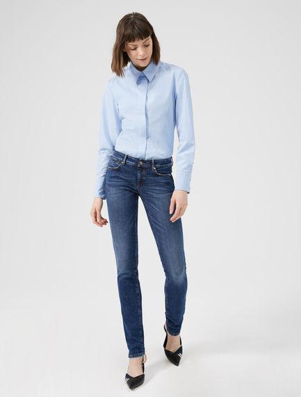 Jeans skinny con effetto vissuto Sportmax