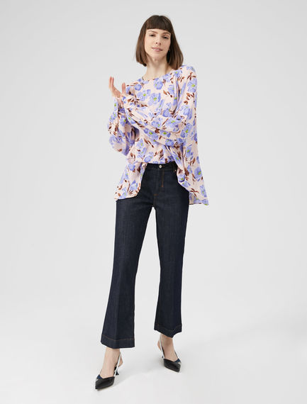Sartorial Mid-Flare Jeans