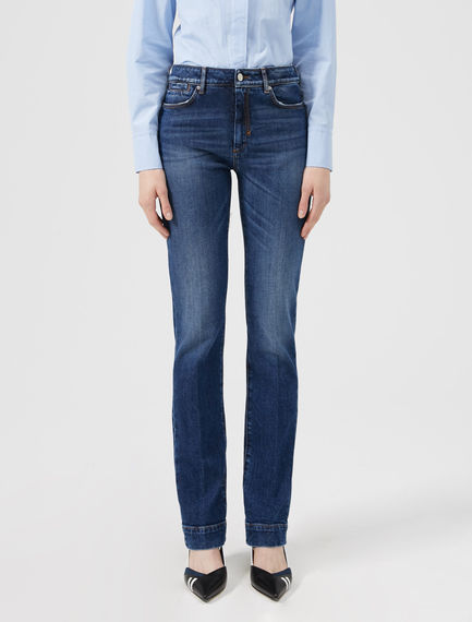 High-Waisted Slim Jeans Sportmax