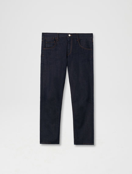 Raw Cut Cigarette Jeans
