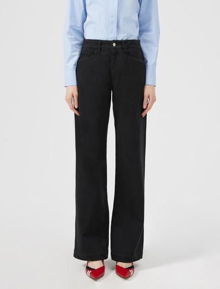 Black Wide Leg Jean