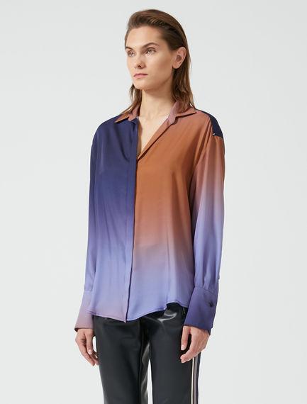 Haze Print Twill Shirt