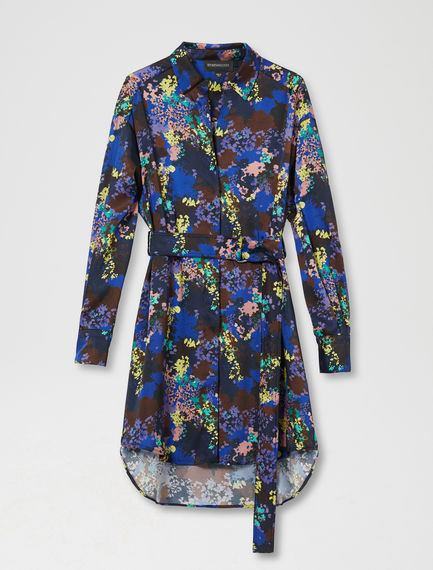 Flower Camo Shirtdress