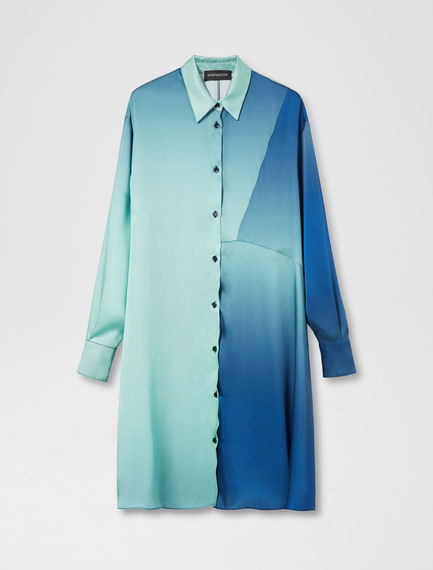 Graphic Degrade Shirtdress Sportmax