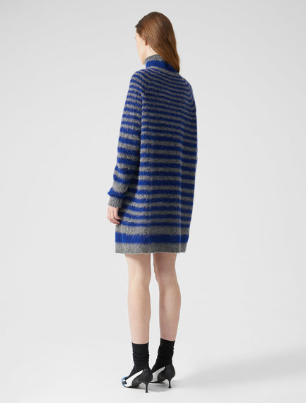Striped Alpaca Jumper Dress