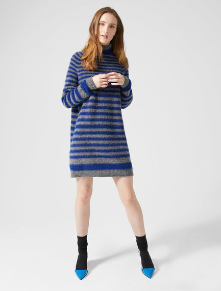 Striped Alpaca Jumper Dress Sportmax