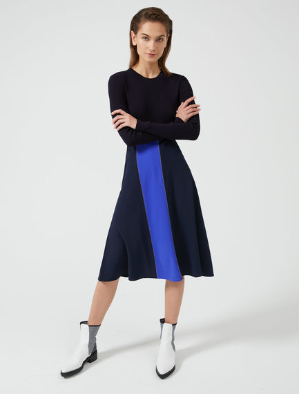 Colour-Shift Ribbed Dress Sportmax