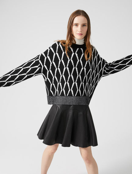 Diamond Knit Cashmere Sweater Sportmax