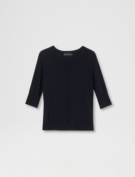 Drop Stitch Viscose Sweater Sportmax