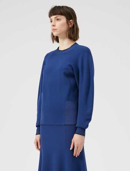 Balloon Sleeve Viscose Sweater Sportmax