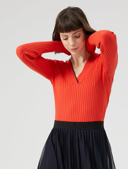 Viscose Knit Cricket Sweater Sportmax