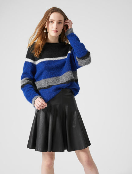 Block Stripe Alpaca Sweater Sportmax