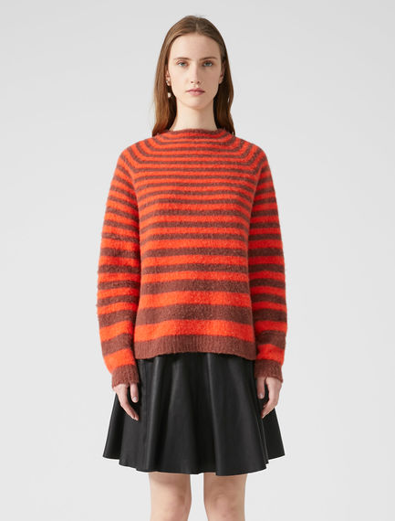 Degradé Stripe Alpaca Sweater