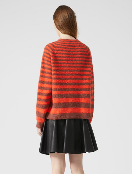 Degradé Stripe Alpaca Sweater Sportmax