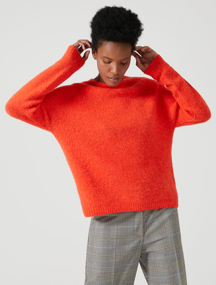 Degradé Stripe Alpaca Jumper