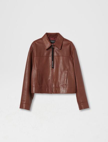Nappa Bomber Jacket