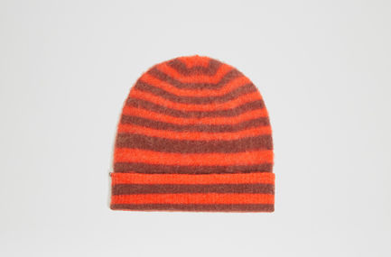 Degradé Stripe Beanie Hat Sportmax