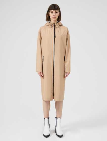 Hooded Reversible Raincoat