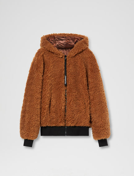 Bomber reversibile in sherpa