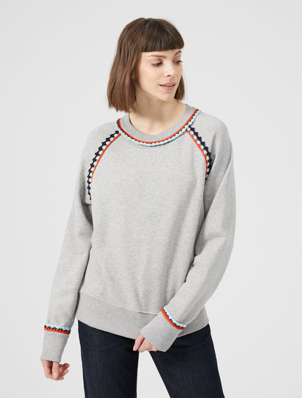 Crochet-Trimmed Marle Sweatshirt Sportmax