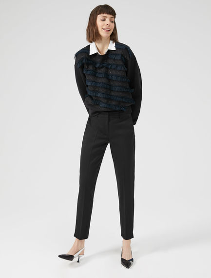 Embroidered Tulle Sweatshirt Sportmax