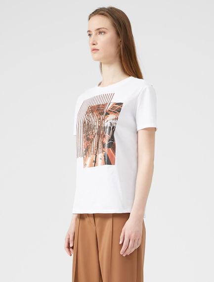 Printed Sequin T-shirt Sportmax