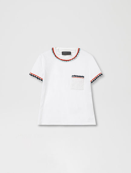 Crochet Pocket T-shirt Sportmax