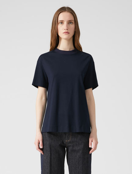 Embroidered Cotton T-shirt Sportmax
