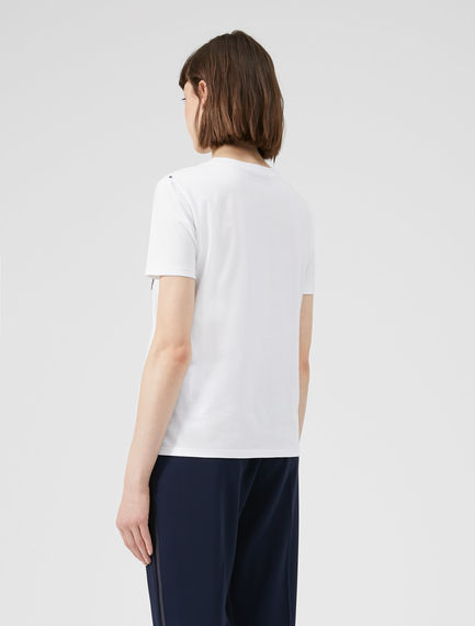 T-Shirt con patch Nordic Art
