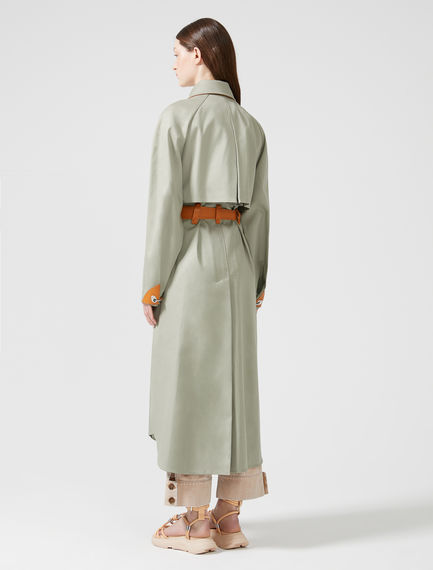 Compact Cotton Trench Coat