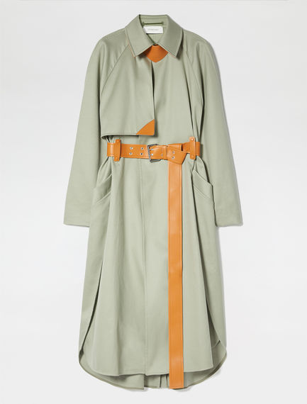 Compact Cotton Trench Coat Sportmax