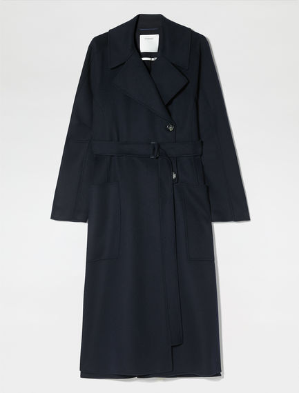 Split Side Cashmere Coat